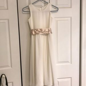 Girls party dress size 10